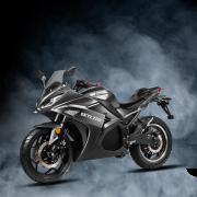 Skyline Motor Listrik Berdesain Kawasaki Ninja 250R