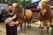 Raffi Ahmad Kurban 10 Sapi dan 10 Kambing, Ada yang Berat 1,3 Ton