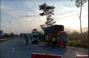 Keluar Exit Tol Salatiga, Puluhan Kendaraan Diputar Balik