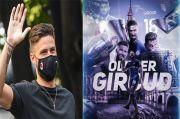 Giroud Resmi Berpamitan dengan Chelsea, Penggemar: Sekali Biru Selalu Biru
