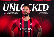 Olivier Giroud Resmi Perkuat Lini Serang AC Milan