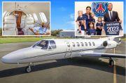 Penampakan Mewahnya Jet Pribadi Sergio Ramos Rp32 Miliar