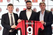 Olivier Giroud Pakai Nomor Punggung 9 di AC Milan