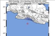 Kabupaten Bandung Gempa 4 SR di Lautan, Getaran Hanya Dirasakan Sebagian Wilayah