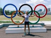 Olympic Rings Jadi Spot Foto Favorit di Kampung Atlet