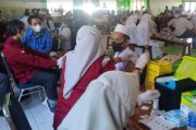 Pelajar di Kabupaten Maros Mulai Disuntik Vaksin Covid-19
