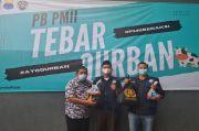 Hari Raya Idul Adha, PB PMII Tebar Daging Kurban Kepada 500 Warga Isoman