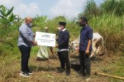 Di Tengah Pandemi, MNC Peduli Tetap Salurkan Hewan Kurban ke Desa Wates Jaya Bogor