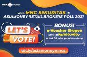 Dukung MNC Sekuritas di Asiamoney Brokers Poll 2021, Berhadiah e-Voucher Belanja Total Rp5 Juta