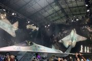 Tandingan F-35 AS, Jet Tempur Siluman Checkmate Rusia Juga Dibikin Versi Nirawak