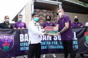 Persita Beri Bansos kepada Masyarakat Tangerang Terdampak Covid-19