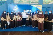 Ribuan Pelajar SMP dan SMA Jakarta Ikuti Vaksinasi Covid-19 di Jakbar