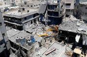 Ledakan Dahsyat Guncang Pasar Gaza, Satu Tewas