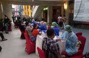 Bersinergi dengan Dinkes DKI, TNI Gelar Serbuan Vaksinasi di Citos