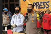 Polres Cilegon Tangkap 6 Pelaku Pencurian Mobil, 2 Ditembak Karena Melawan