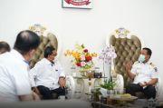 Plt Gubernur Sulsel Bahas Optimalisasi MNP Bareng Dirut PT Pelindo IV