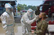 Mendarat di Palembang, 330 Tentara Amerika Serikat Diperiksa Prokes Ketat