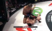 MMA Gempar, Lengan Petarung MMA Patah Dibanting Musuhnya