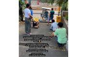 Viral, Pasien Isoman Covid-19 Makan Bakso Keliling di Jakarta Barat