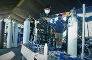 Posko Bantuan Oksigen TNI AL Dibuka di Surabaya, Warga Bisa Isi Cepat dan Gratis
