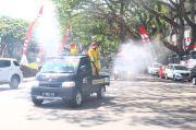 COVID-19 di Malang Terus Bertambah, 10 Ribu Liter Disinfektan Disemprotkan Setiap Harinya