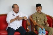 Optimalkan Vaksinasi, Wakil Bupati Blitar Minta Tambahan Vaksin ke Ketua DPD RI