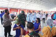 1.543 Warga Binaan Lapas Kelas I Semarang Divaksin