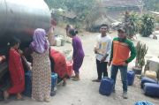 Ribuan Warga Lereng Gunung Penanggungan Mulai Krisis Air Bersih