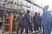 Perkuat Armada Tempur, Wakasal Tinjau Pembuatan Kapal Patroli Cepat TNI AL