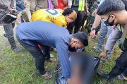 Warga Temukan Febri Tewas, Remuk Tertabrak Kereta Api di Sergai