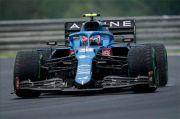 Diwarnai Tabrakan Massal, Esteban Ocon Juara GP Hungaria 2021