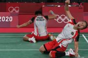 Sejarah! Greysia/Apriyani Rebut Emas Olimpiade Tokyo 2020