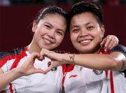 Indonesia Raya Berkumandang di Olimpiade Tokyo, Netizen: Terima Kasih Greysia/Apriyani