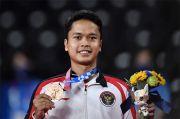 Presiden Jokowi Rayakan Medali Perunggu Olimpiade Anthony Ginting