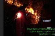 45 Hektare Lahan di Kawasan Danau Toba Hangus Terbakar
