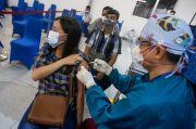 Takut Jarum Suntik, Peserta Ini Beranikan Diri Ikut Vaksinasi MNC Peduli dan MNC Vision Networks
