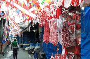 PPKM Level 4 Diperpanjang, Pedagang Atribut Kemerdekaan di Jatinegara Cemas Omzet Menurun