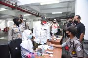 Komisioner Kompolnas Pudji Hartanto Puji Vaksinasi Insiasi Iluni SMAN 2 Bogor