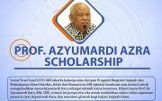 Profesor Azyumardi Azra Scholarship Kembali Ditawarkan, Tertarik?