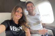 Foto Messi dan Istri Berada di Jet Pribadi Menuju Paris Tersebar Luas
