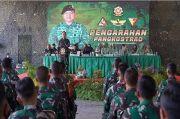 Kunjungi Brigif Para Raider 17, Pangkostrad: Jangan Terprovokasi Berita Hoaks