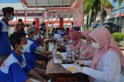 Warga Binaan Rutan Makassar Terima Vaksin Covid-19 Dosis Kedua