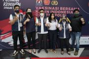 Kadin Indonesia Bersama TNI dan Polri Luncurkan Mobil Vaksinasi Keliling