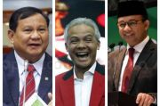 Elektabilitas Prabowo, Ganjar, dan Anies Belum Tergoyahkan