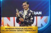 Ikbal Fauzi Raih Pemeran Pendukung Pria Terfavorit Indonesian Drama Series Awards 2021