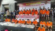 Ini Tampang 36 Pelaku Pencurian Motor Sadis yang Sudah Puluhan Kali Beraksi di Jakarta dan Tangerang
