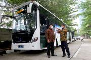 Tekan Emisi, Grup APRIL Gandeng MAB Operasikan Bus Listrik Ramah Lingkungan