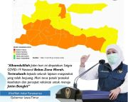 Jawa Timur Bebas Zona Merah COVID-19, Jangan Lengah dan Tetap Jaga Prokes