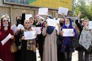 Lagi, Perempuan Afghanistan Turun ke Jalan Tuntut Persamaan Hak