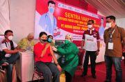 Gubernur Khofifah Minta Vaksinasi Gotong Royong Dimaksimalkan